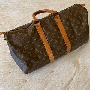 Louis Vuitton Vintage Keepall 45 Duffle